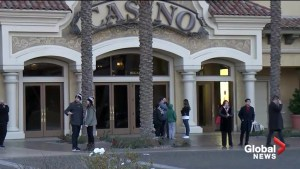 Security guards shoot and kill armed man at a suburban Las Vegas casino-resort, police say