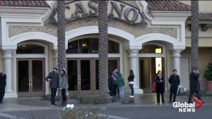 Security guards shoot and kill armed man at a suburban Las Vegas casino-resort, police say