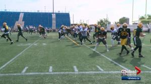 Edmonton Eskimos wrap up training camp