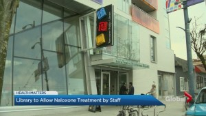 Library to allow naloxone treatment by staff
