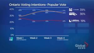 Tory lead in Ontario election campaign solid, despite NDP surge, says Ipsos polling