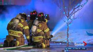 West Edmonton Restaurant Fire