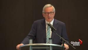 EU head: US tariffs on steel, aluminium imports totally unacceptable
