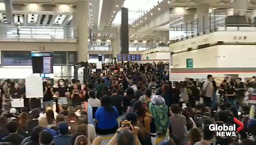 All Flights Cancelled Out Of Hong Kong Airport Amid Democracy Protests