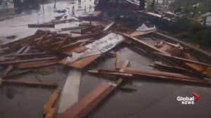 Hurricane Michael: Panama City hit by damage as Hurricane Michael passes through