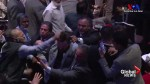 Protesters removed, punched during speaking event for Turkish President Erdoğan in New York