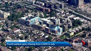 At least four patients have gone missing from CAMH in 1 month