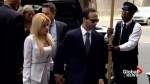 George Papadopoulos arrives in Washington for sentencing in Russia probe