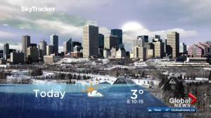 Edmonton early morning weather forecast: Friday, March 16, 2018
