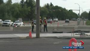 City turns Bonnie Doon traffic circle into intersection