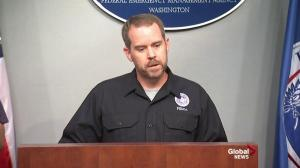 Officials say Michael presents a challenge due to speed of storm