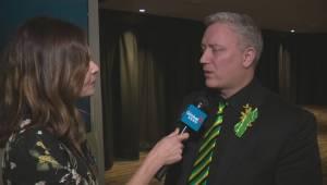 Humboldt Broncos president speaks after Edmonton celebration of life