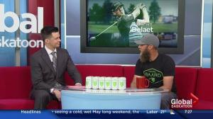 Graham DeLaet pitching new beer