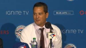 Montoyo on managerial style and approaching Jays roster (01:48)