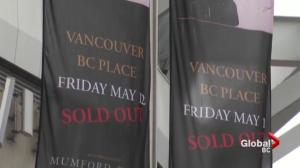 U2 fans brave the Vancouver rain for Joshua Tree anniversary tour floor seats