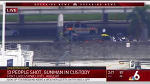 'Probably everyone shot had been on our flight': witness to Fort Lauderdale airport shooting