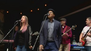 Bankers turned rockers hit the stage to help Calgary kids with disabilities