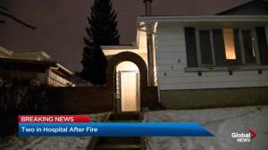 Electrical fire in northeast Calgary home