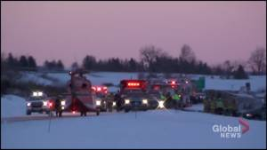 Multi-vehicle collision on Highway 115