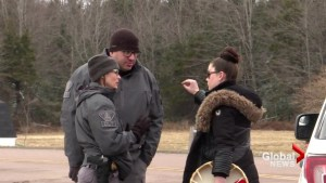 RCMP arrest 3 'grassroots grandmothers' as officers enforce injunction at Alton Gas site