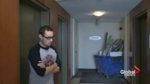 Erskine apartment building tenants threaten action after noise complaints (02:41)