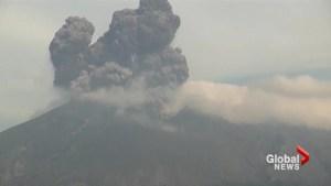 Japan volcano erupts near Kagoshima