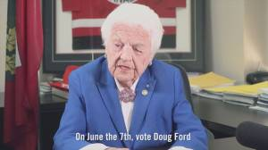 Hazel McCallion endorses Doug Ford, Ontario PC Party