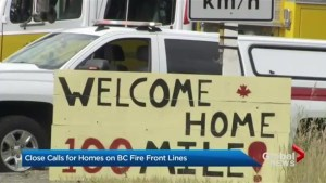 B.C. wildfire evacuees return home, but warned to be ready to leave