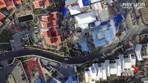 More drone footage captures extent of devastation on Saint Martin