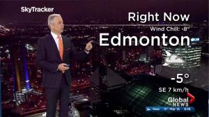 Edmonton early morning weather forecast: Thursday, March 15, 2018