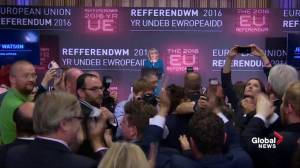 It's official. UK votes to leave European Union