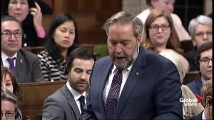Mulcair lambastes Trudeau for 'fake news' political advertisments