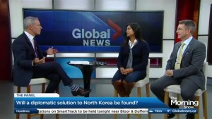 Will a diplomatic solution to North Korea be found?