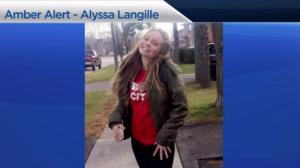 Amber Alert issued for 15-year-old Mississauga, Ont. girl