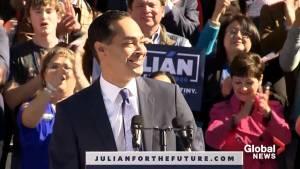 Julian Castro enters presidential race for 2020