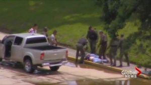 Two killed as Venezuela crushes conflict on troops base