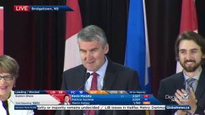 Nova Scotia election: Full victory speech from Premier Stephen McNeil (07:57)