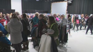 Global Edmonton wardrobe sale raises money for pregnant and parenting teens