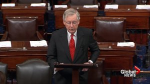 Repealing Obamacare the 'right thing to do': McConnell