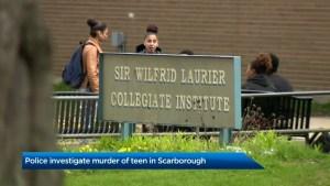 Teen fatally stabbed in Toronto's east end, 3 people in custody