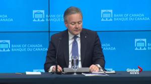 Bank of Canada leaves key interest rate unchanged