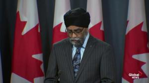 Canada renewing military missions to Ukraine and Iraq: Sajjan