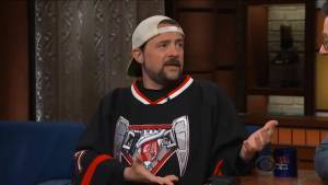 Kevin Smith says doctor told him smoking a joint before massive heart attack probably saved his life