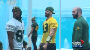 Future of Edmonton Eskimos' Mike Reilly