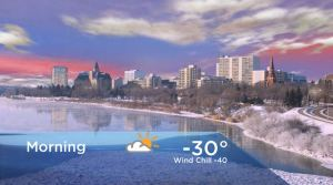 Saskatoon weather outlook: -40 wind chills ahead
