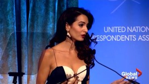 Amal Clooney says Trump has given 'green light' to autocratic regimes