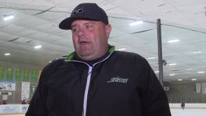 Kingston's Evan Robinson is back coaching Junior hockey