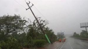 Puerto Plata battered by Hurricane Irma
