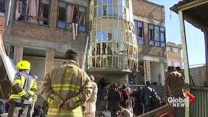 Blast at Afghan news agency kills dozens in Kabul