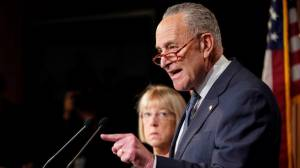 Coronavirus outbreak: Chuck Schumer says U.S. 'almost certainly anticipating a recession'